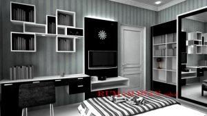 Desain Rumah Hitam Putih Yang Elegan