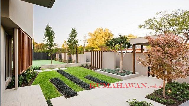 Ide Desain Halaman Rumah Dengan Tumbuhan