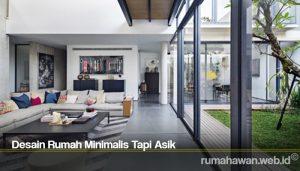 Desain Rumah Minimalis Tapi Asik