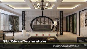 Sifat Oriental Turunan Interior