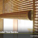 Inspirasi Model Tirai Bambu