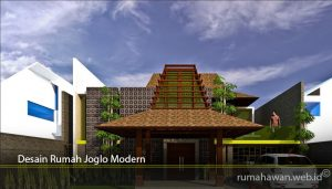 Desain Rumah Joglo Modern