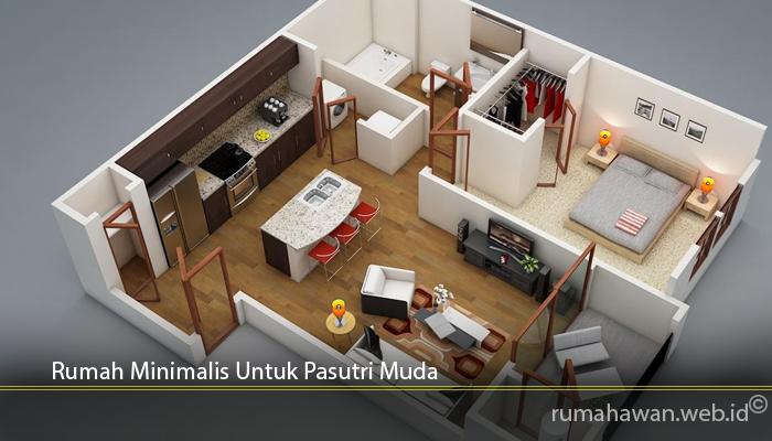 Rumah Minimalis Untuk Pasutri Muda