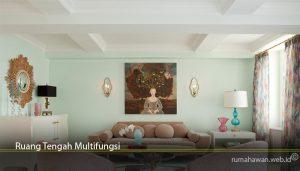 Ruang Tengah Multifungsi