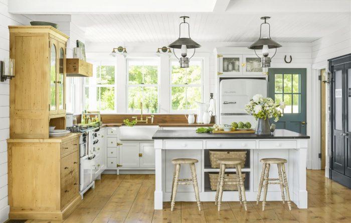 Desain-Dapur-Klasik-Kombinasi-Putih-Cokelat